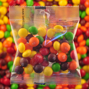 Skittles - Promotional Bag - Plain Packaging