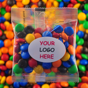 M&M`s - Promotional Bag - Plain Packaging Oval Label